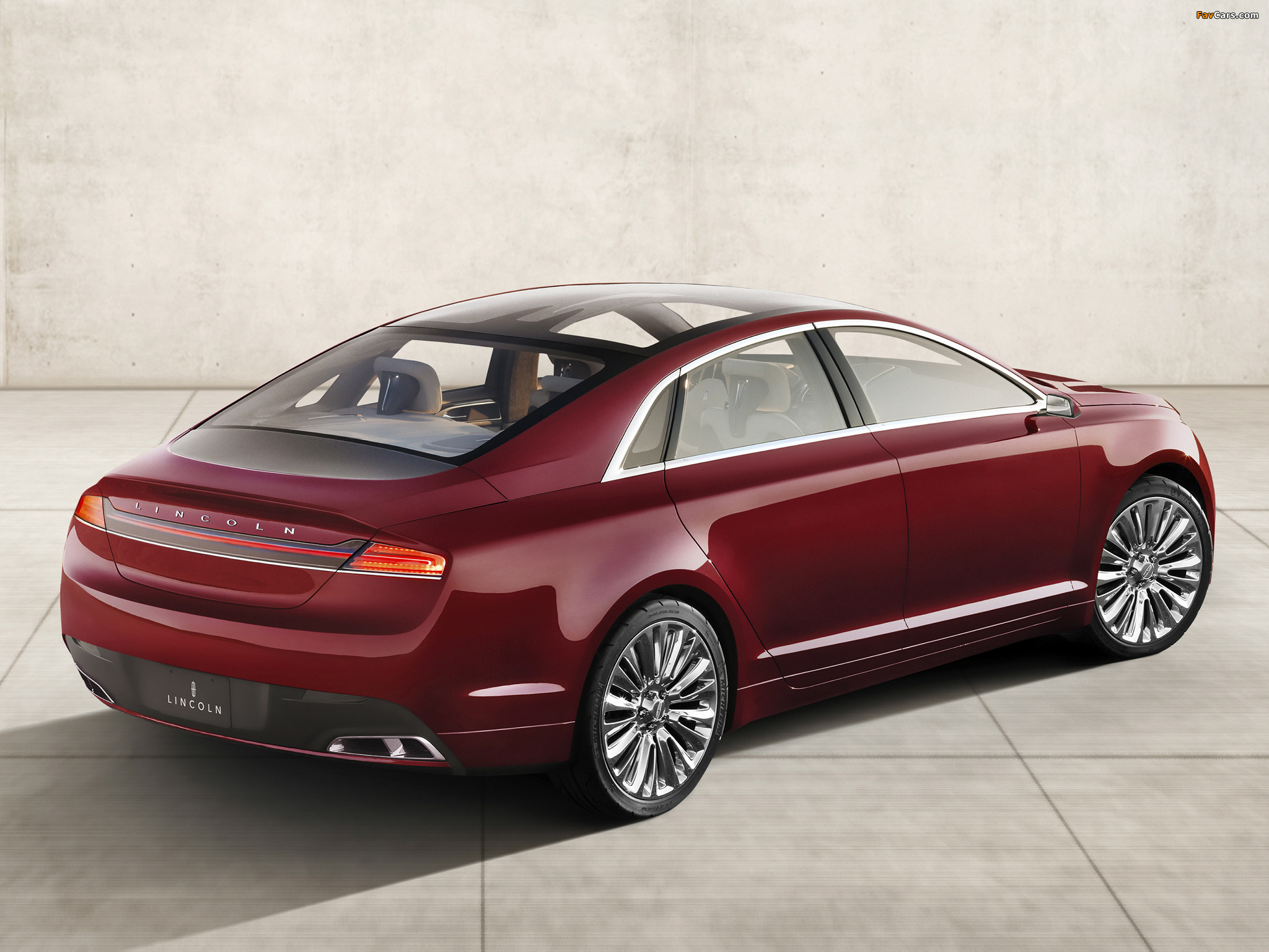 Lincoln MKZ Concept 2012 wallpapers (2048 x 1536)