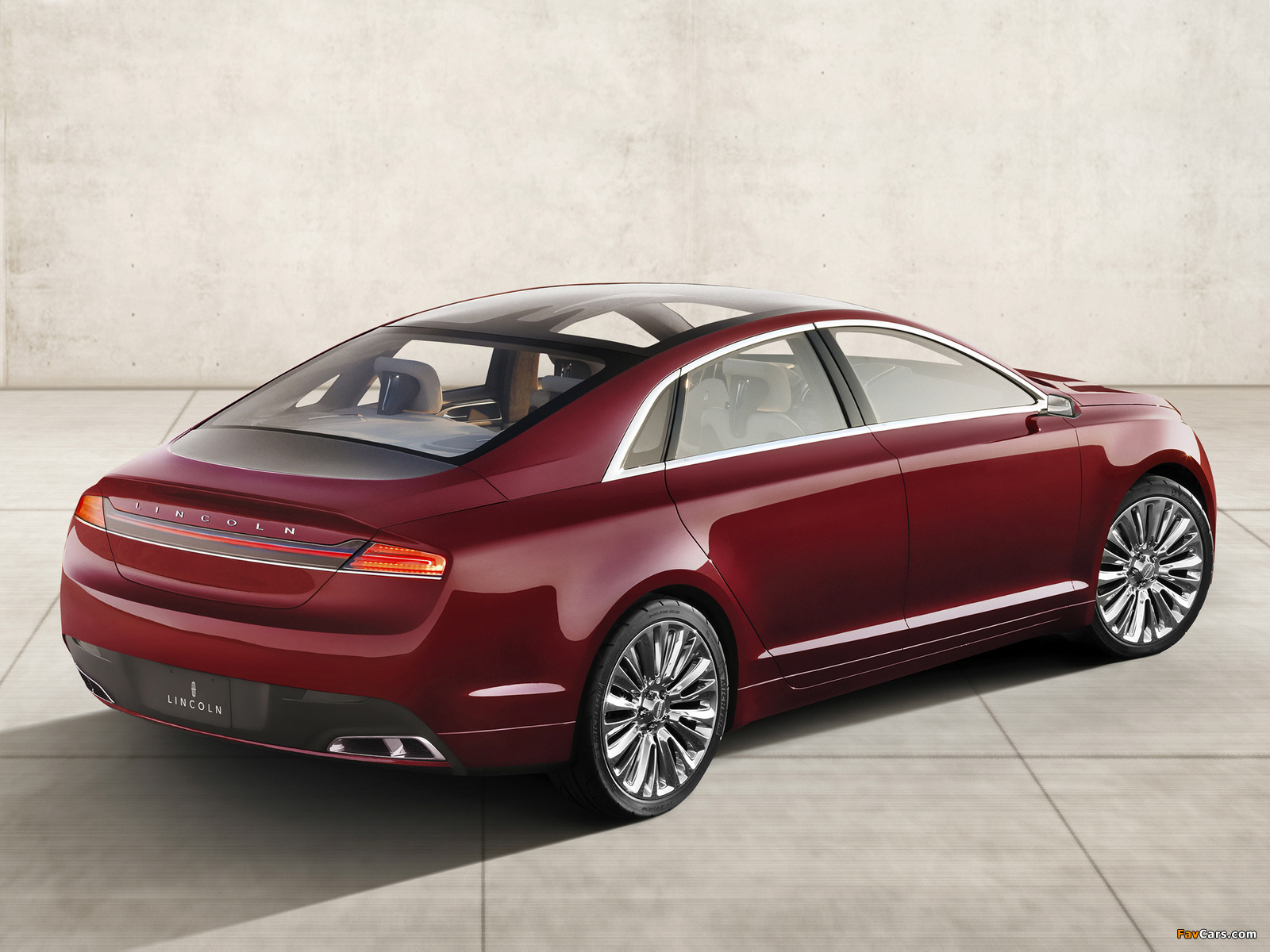 Lincoln MKZ Concept 2012 wallpapers (1600 x 1200)