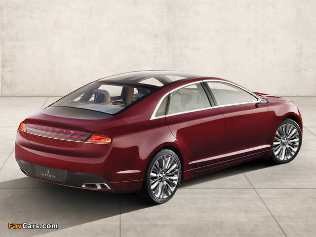 Lincoln MKZ Concept 2012 wallpapers (640 x 480)