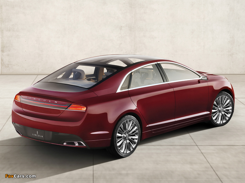 Lincoln MKZ Concept 2012 wallpapers (800 x 600)