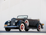Images of Lincoln Model K Dual Windshield Convertible Sedan by LeBaron 1936