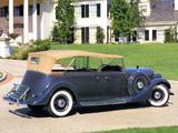 Lincoln Model K Phaeton 1935 wallpapers