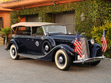 Lincoln Model K Phaeton 1935 wallpapers