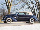 Lincoln Model K Convertible Victoria 1939 wallpapers