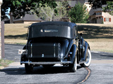 Pictures of Lincoln Model K Semi-Collapsible Cabriolet by Brunn (409-A) 1938