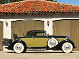 Wallpapers of Lincoln Model KA Convertible Roadster by Murray 1933