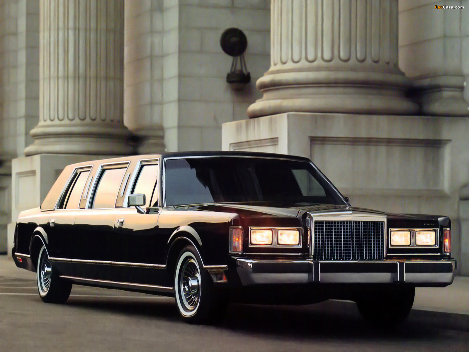 Lincoln Town Car Limousine 1985 89 Wallpapers 1600x1200