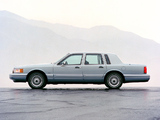 Lincoln Town Car 1992–94 wallpapers