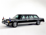 Lincoln Town Car Presidential Limousine 1989 wallpapers