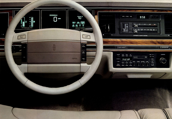 Lincoln Town Car 1990 92 Images