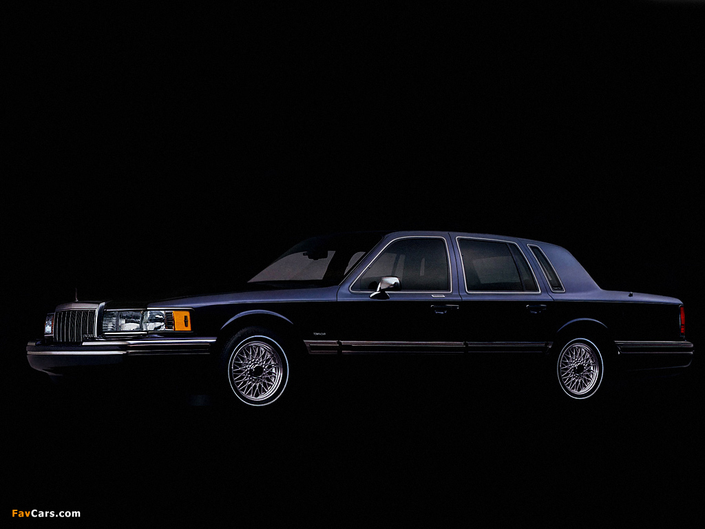 Lincoln Town Car 1992 94 Images