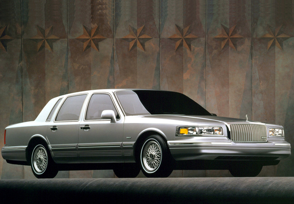 Lincoln Town Car 1994 97 Images