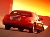 Lincoln Town Car 1998–2003 photos