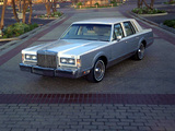 Photos of Lincoln Town Car 1985–89