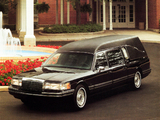 Pictures of Lincoln Town Car Funeral Coach 1992–94