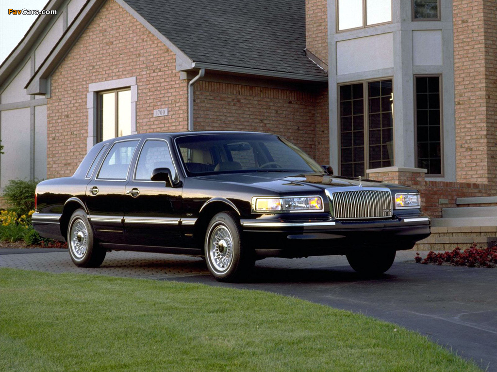 Pictures Of Lincoln Town Car 1994 97 1024 X 768