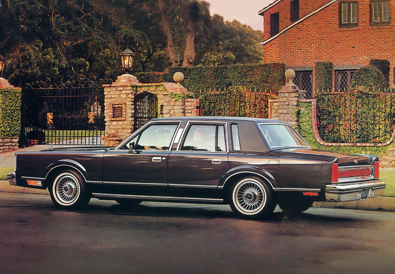 Lincoln Town Car 1981 85 Wallpapers