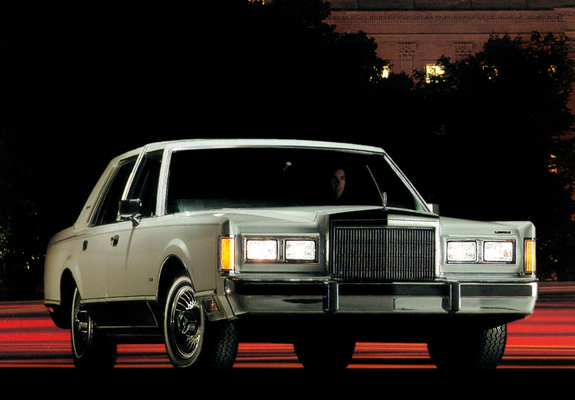 Lincoln Town Car 1985 89 Wallpapers