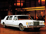 Lincoln Town Car Limousine 1985–89 wallpapers
