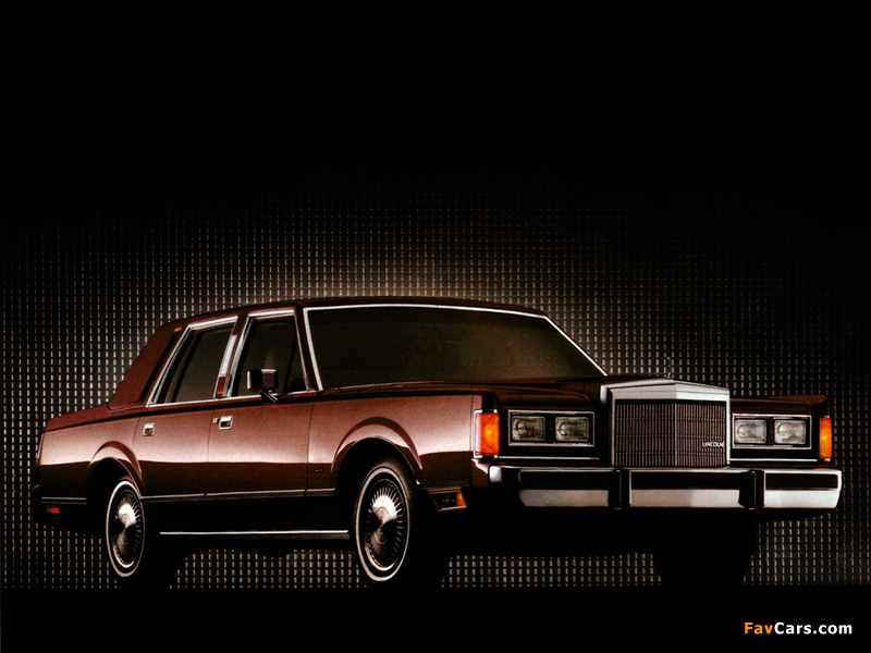 Lincoln Town Car 1985 89 Wallpapers 800x600