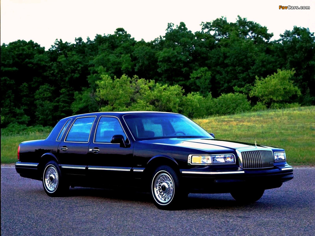 Lincoln Town Car 1994 97 Wallpapers