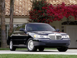 Wallpapers of Lincoln Town Car 1998–2003