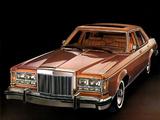 Lincoln Versailles 1978 photos