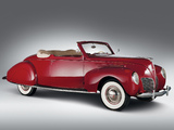 Lincoln Zephyr Convertible Coupe 1938 images
