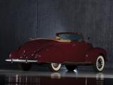 Lincoln Zephyr Convertible Coupe 1938 photos