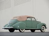 Lincoln Zephyr Convertible Sedan 1938 wallpapers