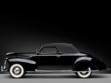 Lincoln Zephyr Convertible Coupe (96H-76) 1939 images