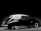 Pictures of Lincoln Zephyr Convertible Sedan (86H-740) 1938