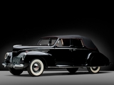 Lincoln Zephyr Convertible Sedan 1939 wallpapers