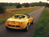 Pictures of Lotus Elise 1995–2001