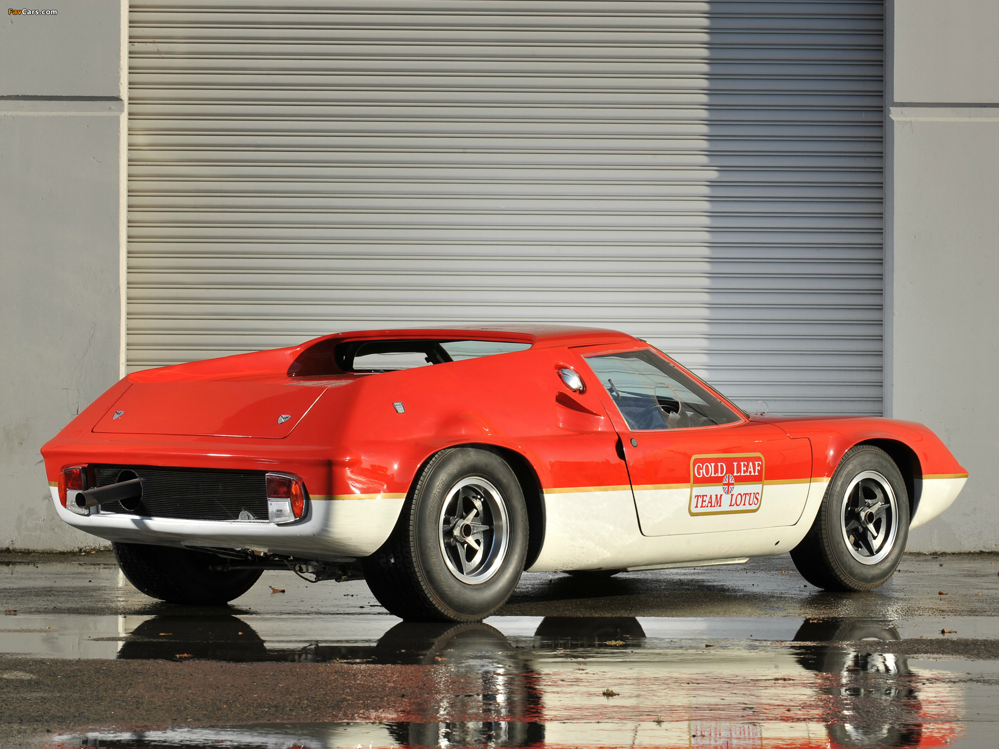 of Lotus Europa Racing Car (Type 47) 1966–70