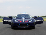 Lotus Evora S Carabinieri 2010 wallpapers