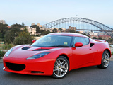 Lotus Evora AU-spec 2009 wallpapers