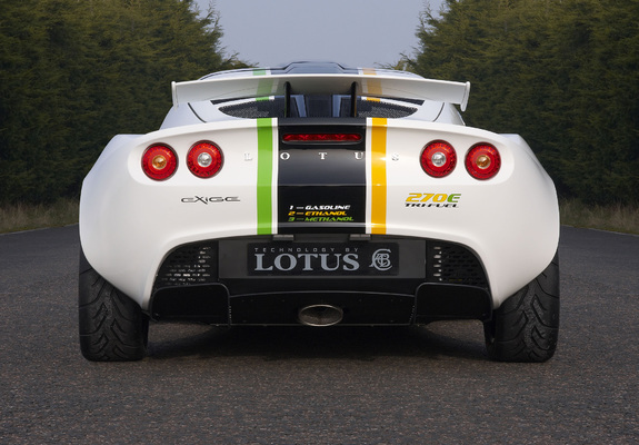 Lotus Exige 270E TriFuel Concept 2008 wallpapers