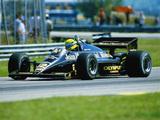 Lotus 97T 1985 images