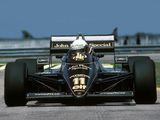 Lotus 97T 1985 photos
