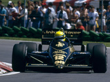 Lotus 98T 1986 photos