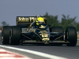 Lotus 98T 1986 pictures
