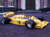 Pictures of Lotus 99T 1987