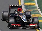 Pictures of Lotus E21 2013
