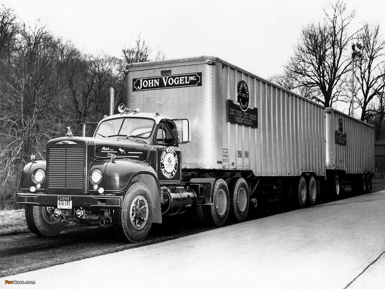 Mack B77 1958–64 images (1280 x 960)