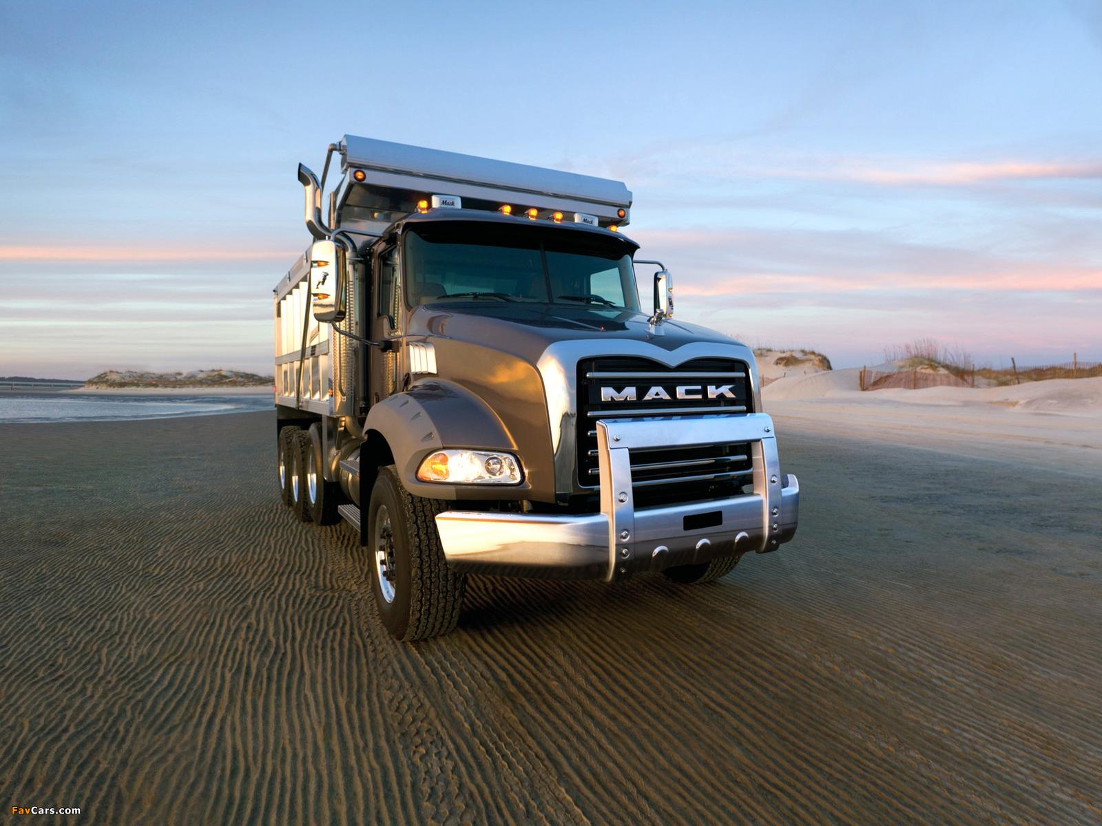 Images of Mack Granite 6x4 Dump Truck 2002 (1600 x 1200)