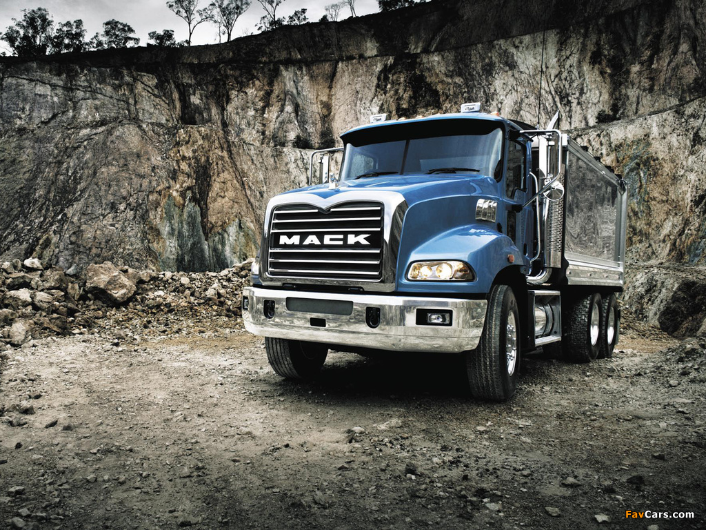 Mack Granite 6x4 Dump Truck 2002 photos (1024 x 768)