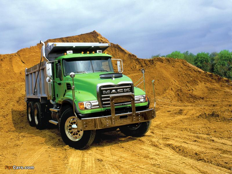 Mack Granite 6x4 Dump Truck 2002 pictures (800 x 600)