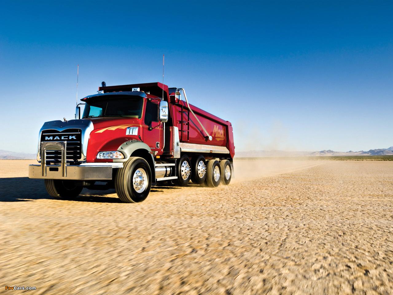 Mack Granite 6x4 Dump Truck 2002 pictures (1280 x 960)