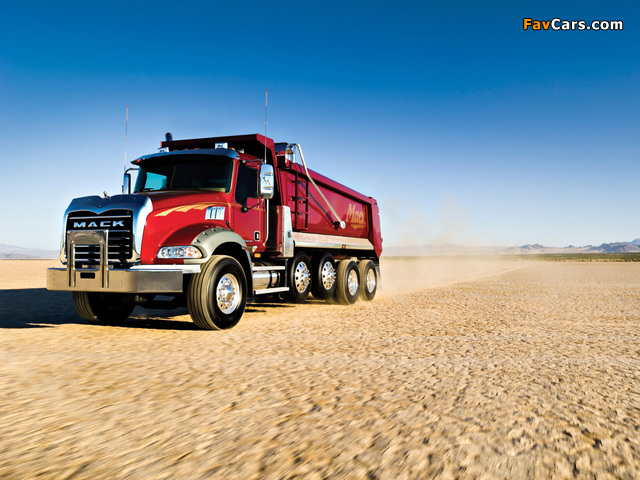 Mack Granite 6x4 Dump Truck 2002 pictures (640 x 480)